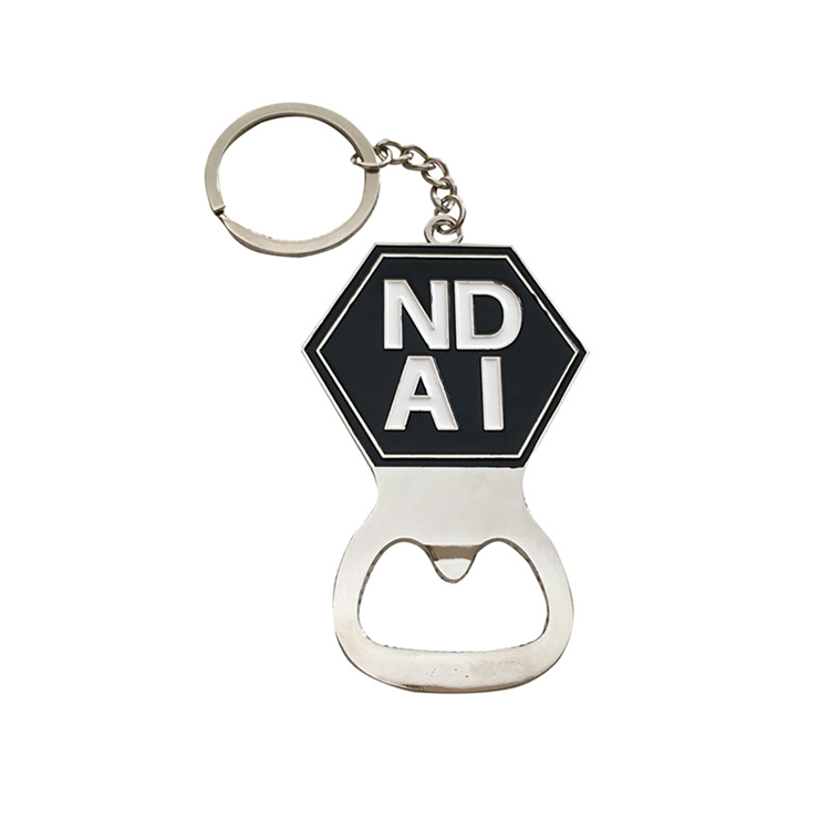 Promotional Giveaways Metal Keychains with Logo