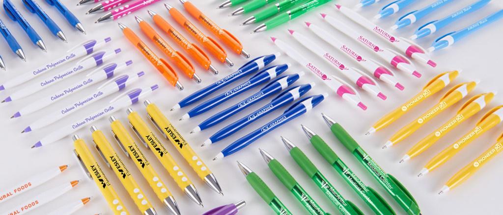 Promotional branded pens