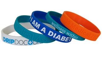 silicone wristbands for events