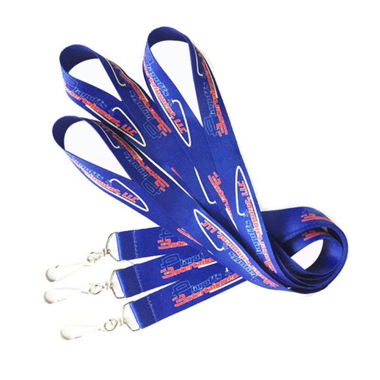 Bulk Custom Name Tag Polyester Lanyards for Events