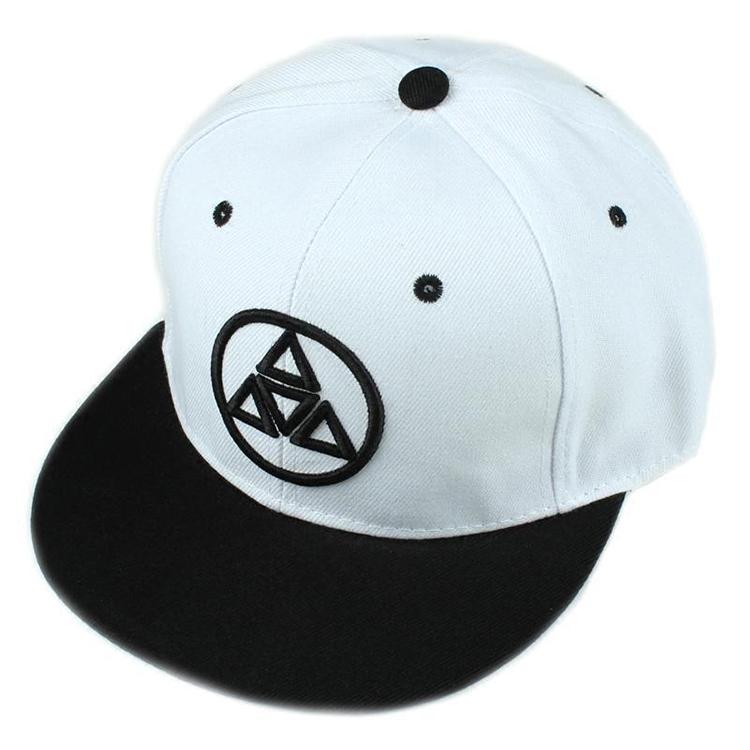 Brushed Cotton Hip Hop Snapback Cap Custom Logo