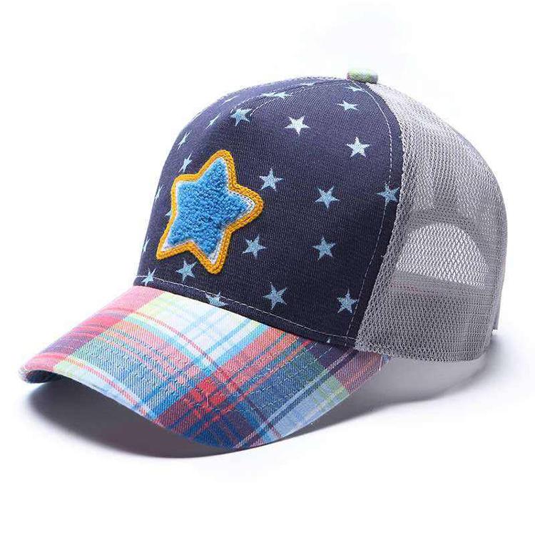 Promotional Kids Mesh Trucker Cap with Custom Design