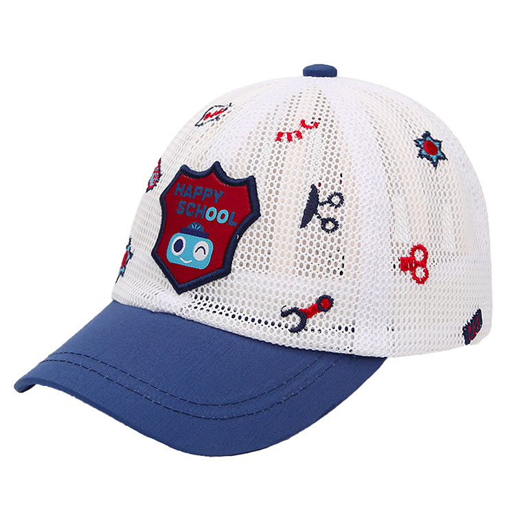 Custom Embroidered Promotional Kids Mesh Cap