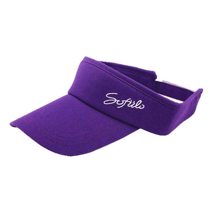 Custom Sports Visor Caps for Men or Women