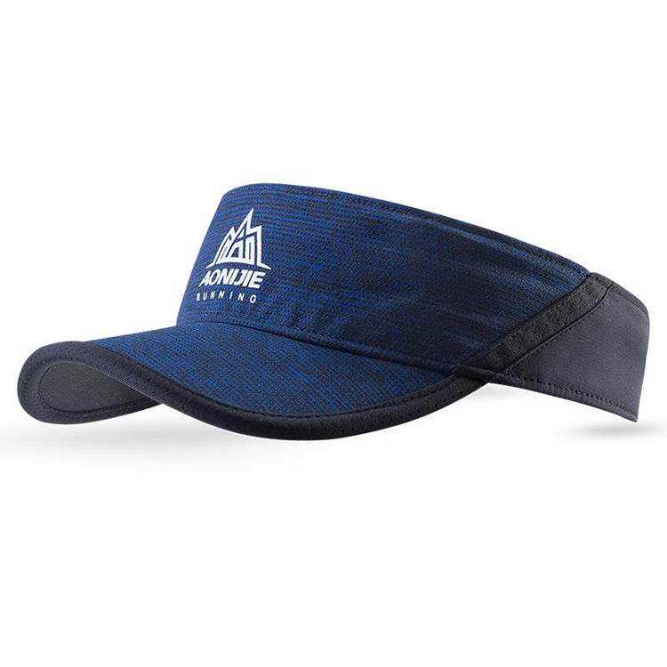 100% Polyester Running Sun Visor Cap Sports Hats
