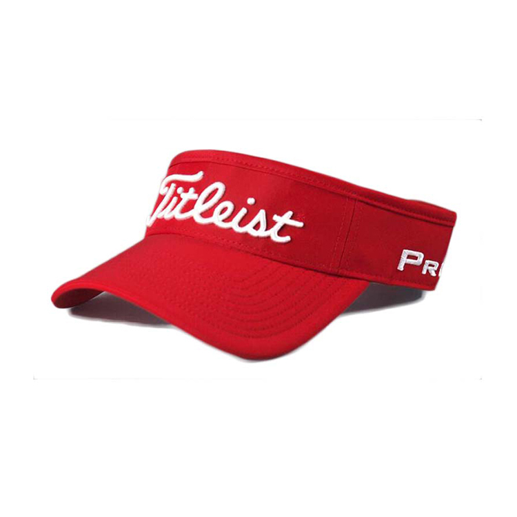 Wholesale Sun Visor Cap with Custom Embroidery