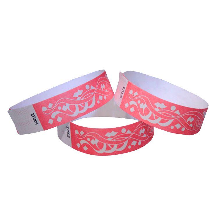 Custom Logo Waterproof Party Festival Wristbands