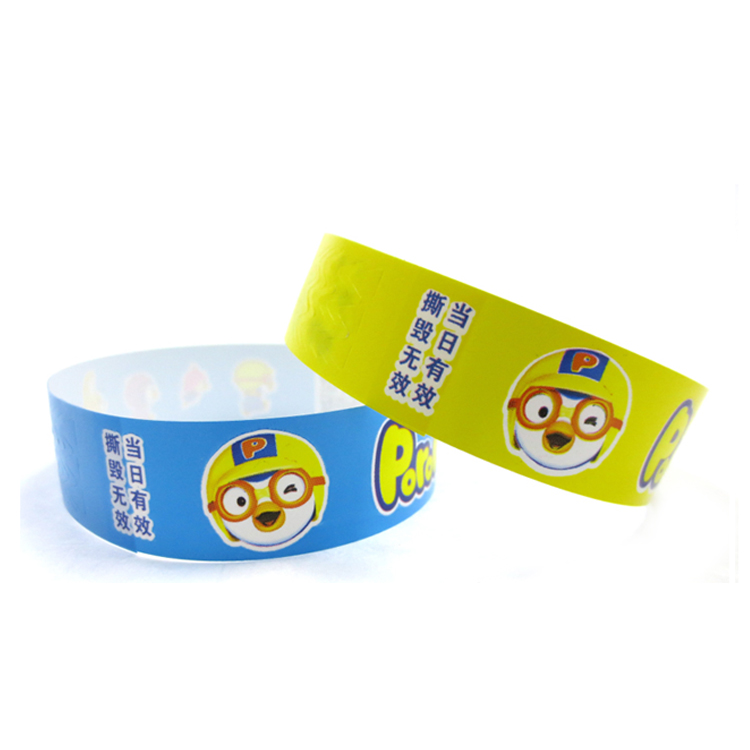 Customized Kids Wristbands with Serial Number for Events