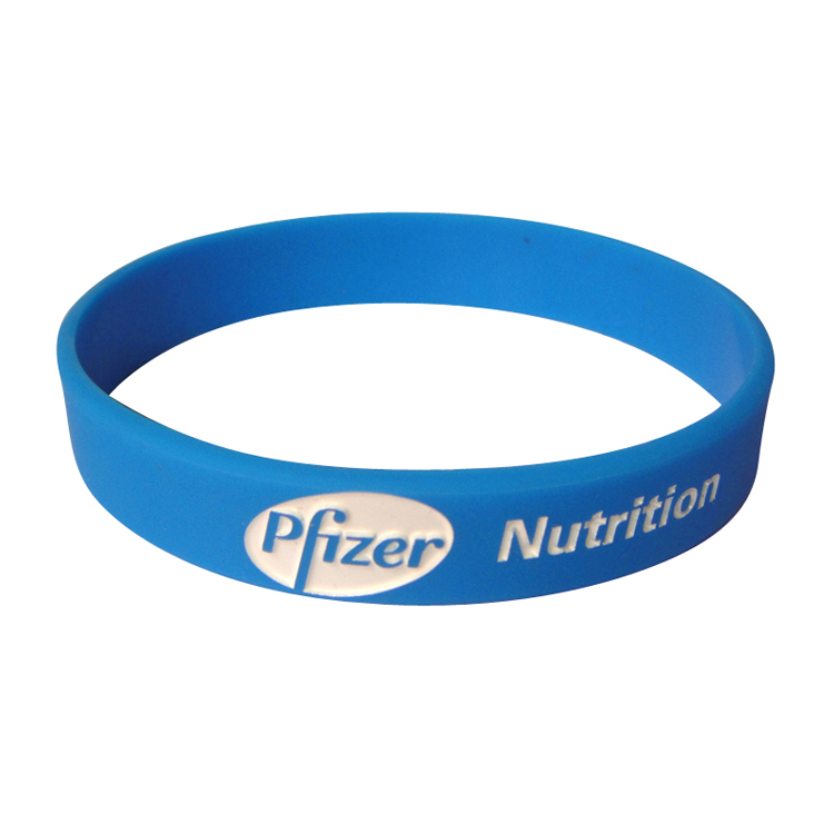 Personalized Printed Silicone Wristbands for Sports