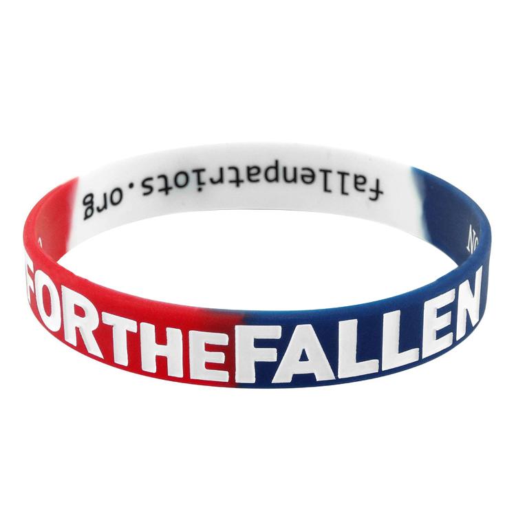 Wholesale Bulk Fashion Silicone Bracelets Rainbow Pride Wristbands