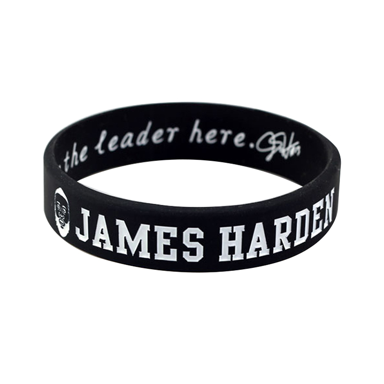 Custom Rubber Wristbands Silicone Bracelets with Print