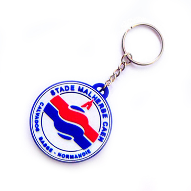 Custom Made Silicone Rubber Key Rings Soft PVC