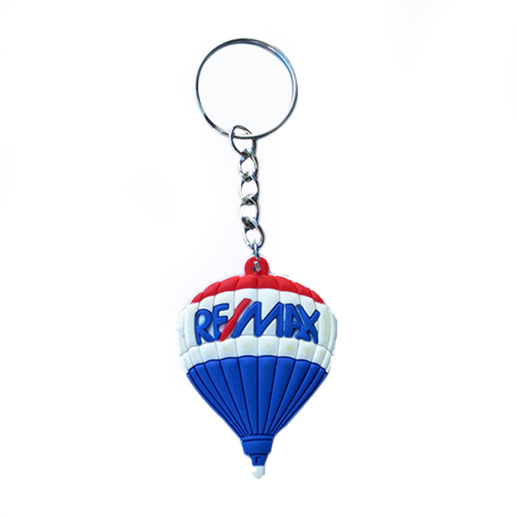 Promotional Rubber Personalized Keyring Soft PVC