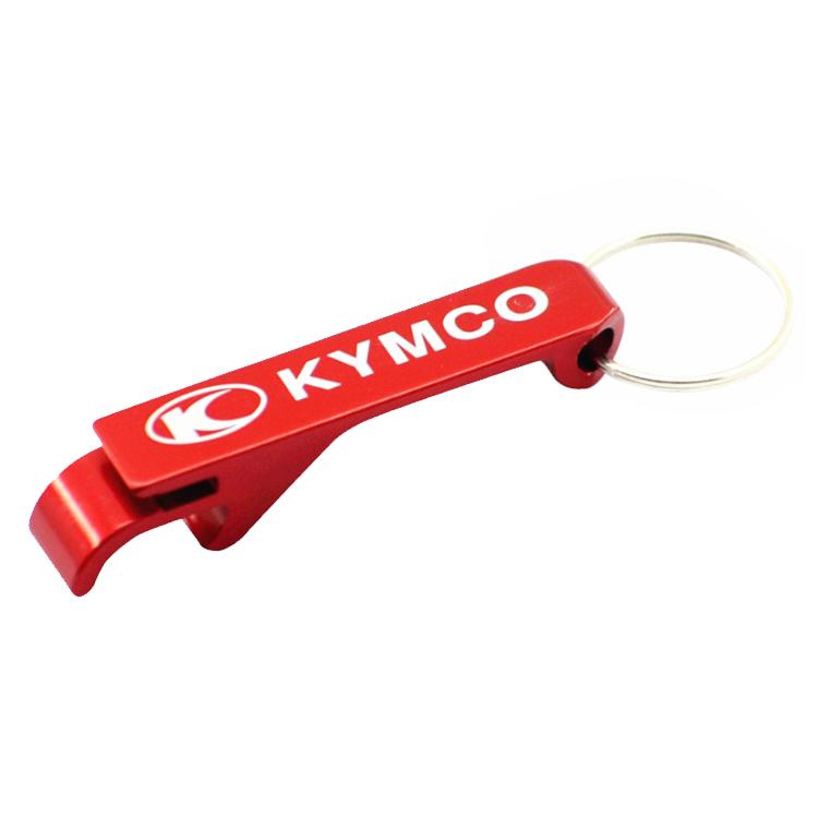 Promotional Aluminum Opener Keychain with Custom Print