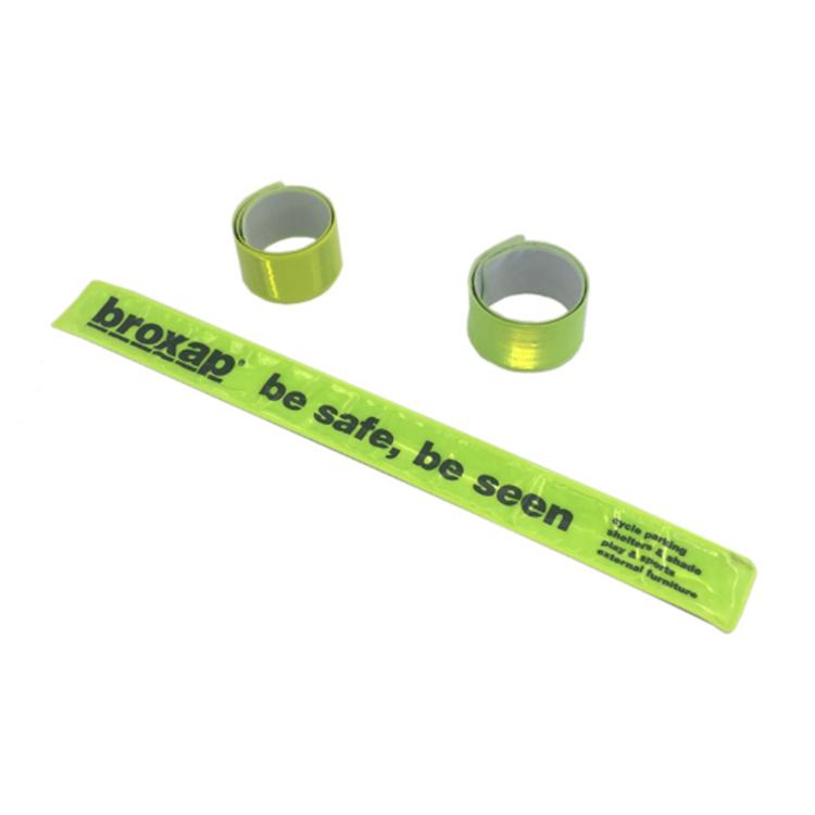 Custom PVC Slap Wristband Snap Bracelet with Logo