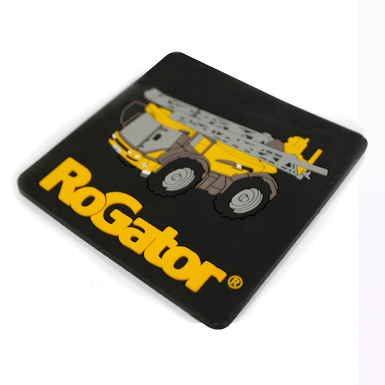 Personalized Custom PVC Silicone Rubber Coasters