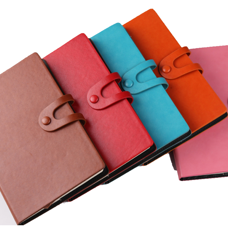 Soft PU Leather Custom Business Binding Notebook